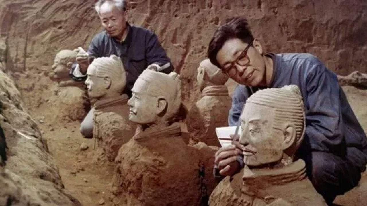terracotta warriors discovery